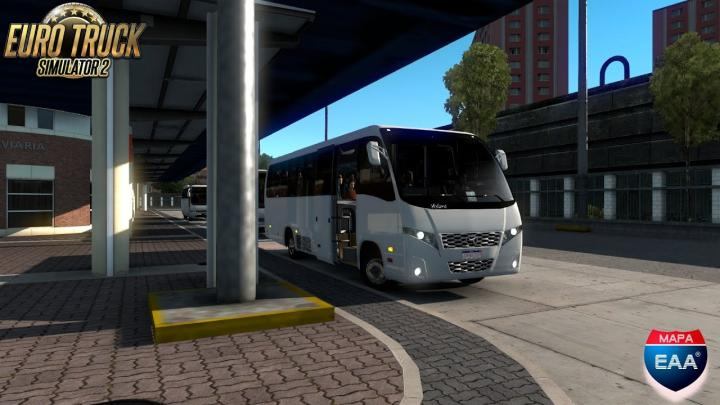 Volare DW9 Fly Agrale MA 10,0 CURITIBA para ANTONINA(Euro Truck Simulator 2)