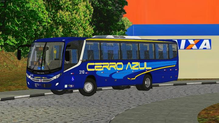 Marcopolo Audace Mercedes-Benz OF-1721L BlueTec 5 (OMSI 2)