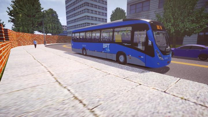 Marcopolo Viale BRT Mercedes-Benz O-500M BlueTec 5 [Proton Bus Simulator]