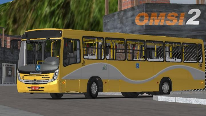 Neobus Mega 2006 MB OF-1722 Padrão Curitiba I OMSI 2 #62