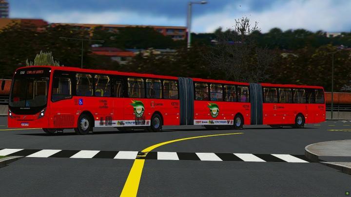 Neobus Mega Plus B340M Biarticulado by Gabriel Machado [OMSI 2]