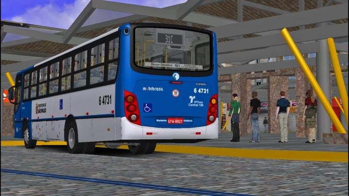 OMSI 2 – Caio Apache VIP II MB OF-1722M PADRÃO SP| FRIBURGO | LINHA 31C IDA