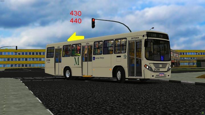 21299 Auto Viação São Braz Comil Svelto 2008 Volkswagen 17.230 EOD V-Tronic 2009 OMSI 2