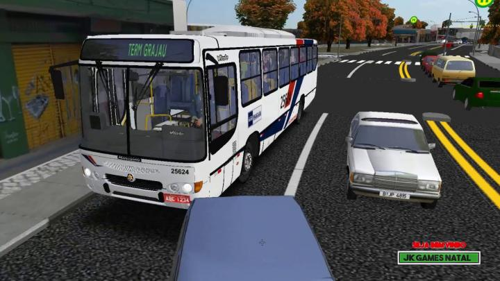 GamePlay Mapa GRAJAU CITY L6092 Marcopolo Viale MB OF-1721