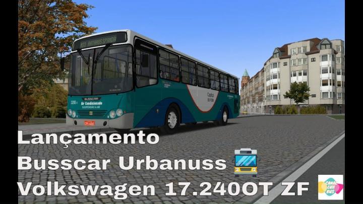 Lançamento Busscar Urbanuss