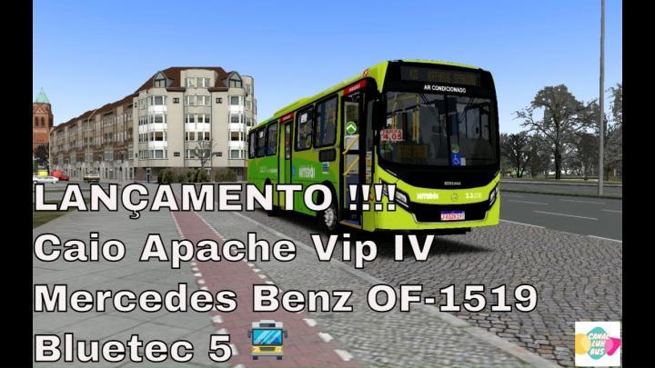LANÇAMENTO!!! Caio Apache Vip IV Mercedes Benz OF-1519 Bluetec 5