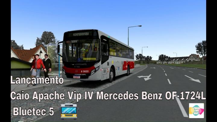 LANÇAMENTO !! Caio Apache Vip IV Mercedes Benz OF-1724L Bluetec 5