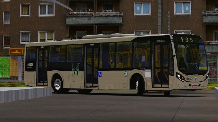 LANÇAMENTO Caio Millennium IV Volks 18.280 OTS Padrão City Transportes I OMSI 2