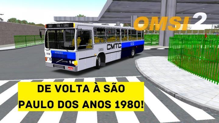 OMSI 2 – LANÇAMENTO! – MAPA CMTC V1 BY FÁBIO MUCHA JR. – CAIO AMÉLIA VOLVO B58E – LINHA 3057