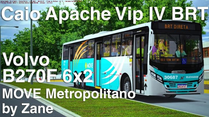 Caio Apache Vip IV BRT Volvo B270F 6×2 – v1.0.2