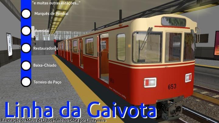 Linha Azul/Linha Gaivota do Metrô de Lisboa