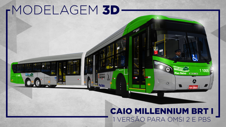 RONALDO AGUIAL: LANÇAMENTO CAIO MILLENNIUM BRT I PARA OMSI 2