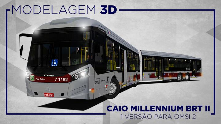 RONALDO AGUIAL: LANÇAMENTO CAIO MILLENNIUM BRT II PARA OMSI 2