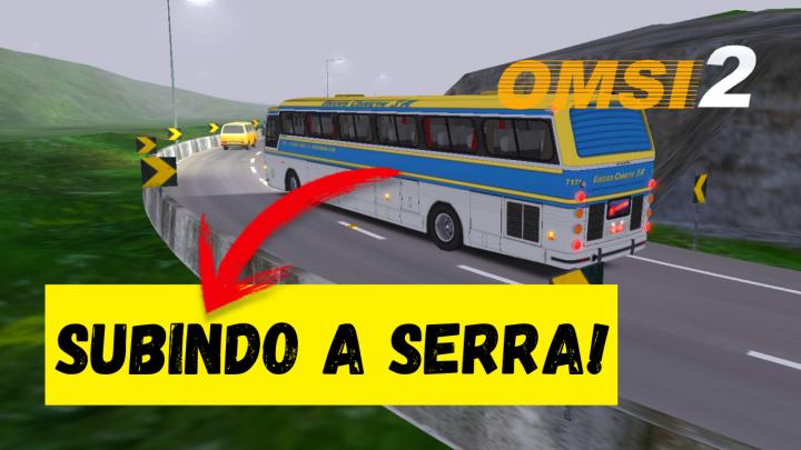 OMSI 2 – CMA FLECHA AZUL SUBINDO A SERRA DE BURITIS! – MAPA BR-099