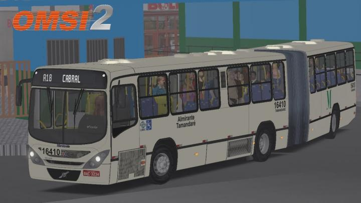 Marcopolo Gran Viale Articulado Volvo B12M Padrão Recife I OMSI 2 #77