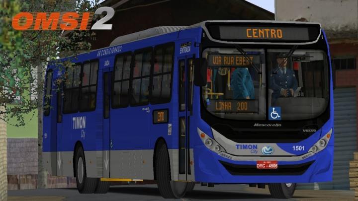 Mascarello Gran Via 2014 BRT Volvo B270F Padrão Timon City I OMSI 2 #79
