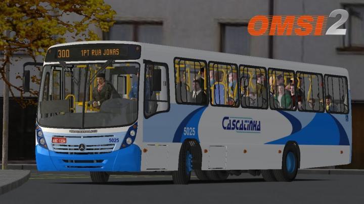 Neobus Mega 2006 MB OF-1722M Padrão Cascatinha I OMSI 2 #80