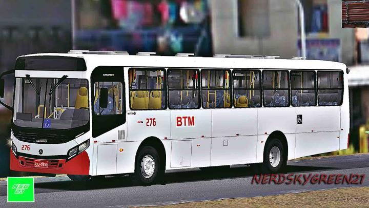 [OMSI 2] ANDANDO NO SEMI NOVO DA BTM – Bahia / Caio Apache Vip IV mb of-1721 Bluetec 5 +G27