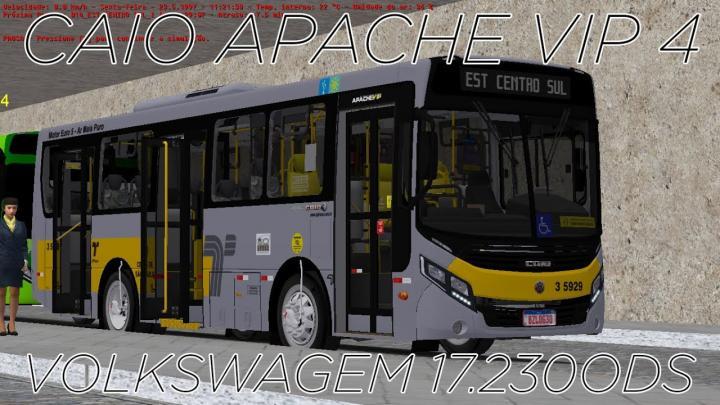 OMSI 2 – Caio Apache Vip IV VW 17.230OD (Lançamento da Semana)