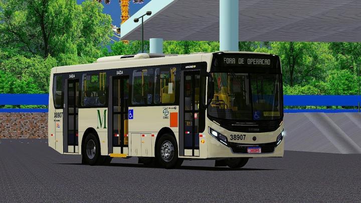 OMSI 2 – LANÇAMENTO Caio Apache VIP IV Volksbus 15.190 OD e 17.230 ODS 9 metros padrão SP