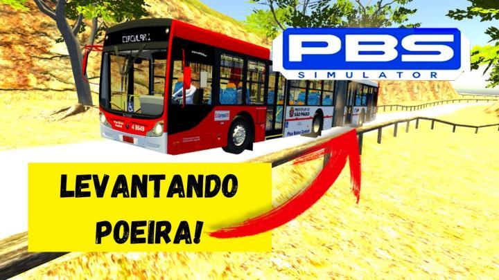 PROTON BUS SIMULATOR – ÔNIBUS ARTICULADO EM ESTRADA DE TERRA (SERÁ QUE DEU RUIM?)