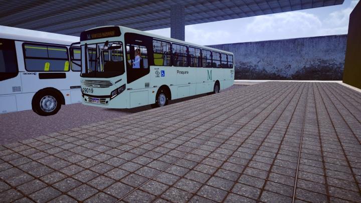 29019 Viação Piraquara CAIO Apache Vip IV Mercedes-Benz OF-1721L BlueTec 5 2021 Proton Bus Simulator