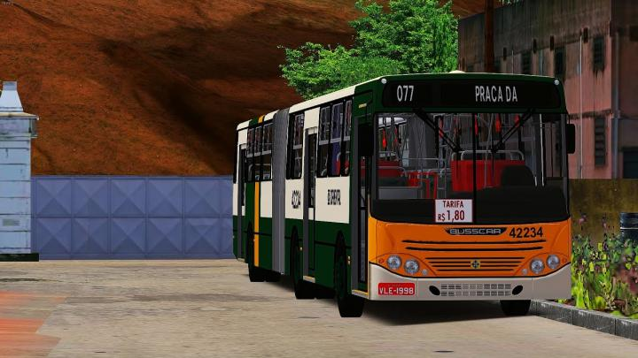 Busscar Urbanuss Volvo B10M ATC OMSI 2