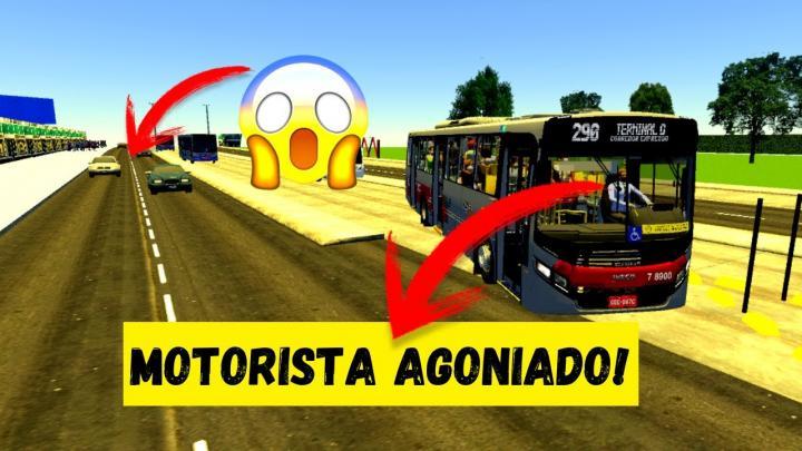 PROTON BUS SIMULATOR – MOTORISTA AGONIADO FAZENDO HORÁRIO!