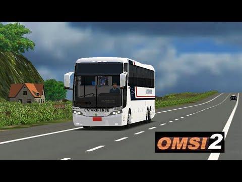 OMSI 2 – Mapa Floripa Fictício – Linha BC x FLN – Busscar Jum Buss 360 Scania Catarinense