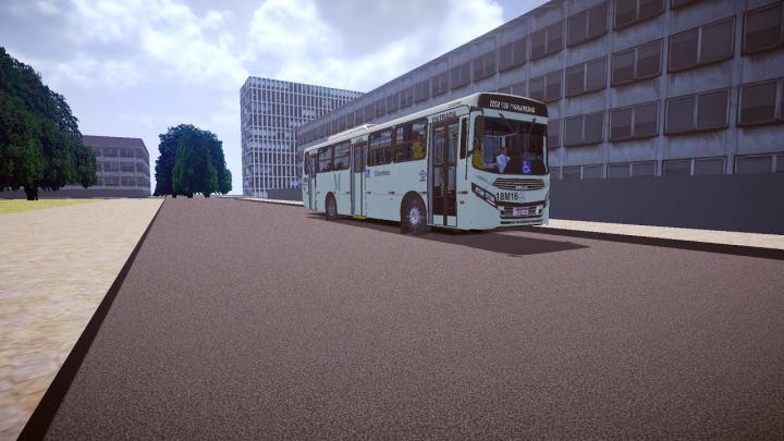18M16 Viação Santo Ângelo CAIO Apache Vip IV Mercedes-Benz OF-1721L BlueTec 5 Proton Bus Simulator