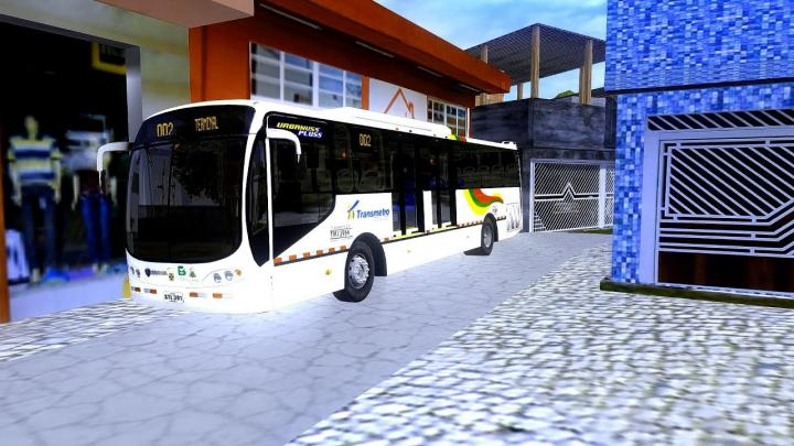 Busscar Urbanuss Pluss Scania K230 Padrão Barranquilla Colombia OMSI 2