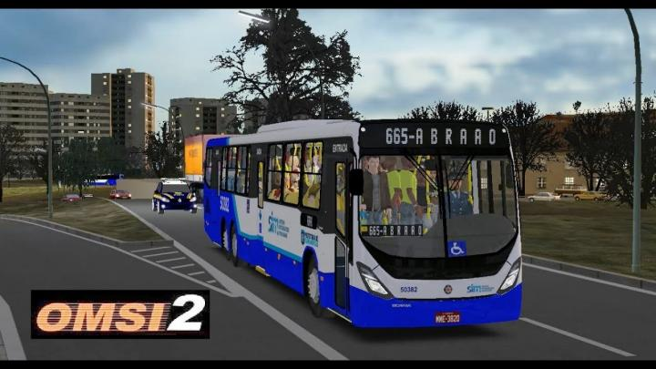 OMSI 2 – Mapa Floripa Fictício – Linha Abraão – Marcopolo Torino 2014 Scania K310