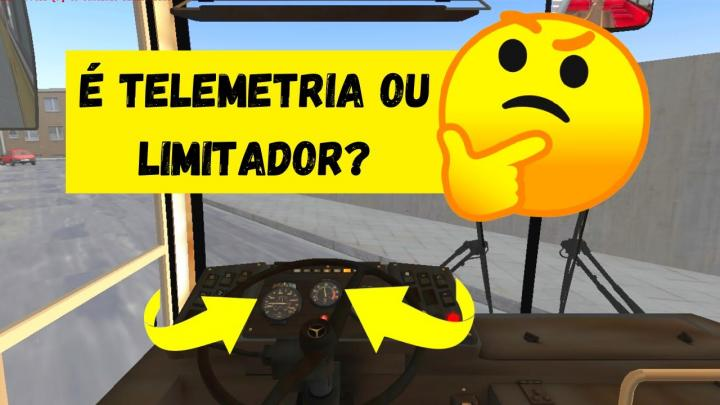 OMSI 2 – MOTORISTA EXPLICANDO A DIFERENÇA ENTRE TELEMETRIA E LIMITADOR DE VELOCIDADE E/OU RPM