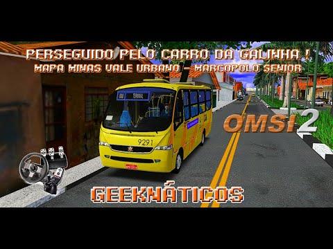 PERSEGUIDO PELO CARRO DA GALINHA NO LANÇAMENTO DO MAPA MINAS VALE URBANO   MARCOPOLO SÊNIOR