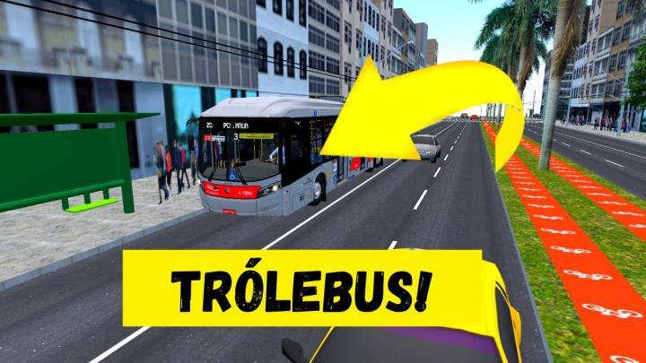 PROTON BUS SIMULATOR – CORTES RD11 O TERRÍVEL – CAIO MILLENNIUM BRT SCANIA K-270UB TRÓLEBUS – MAPA BARÃO BY MOSSILVA