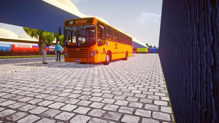 Proton Bus Simulator URBANUSS ECOSS MERCEDES BENZ OF1722M EURO III