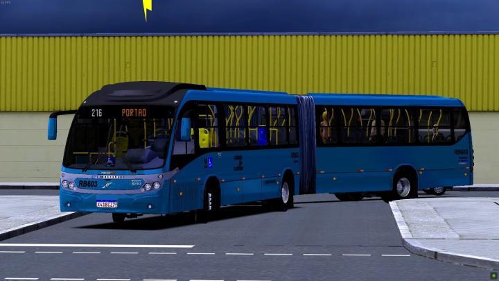 RB603 Expresso São Gabriel Virtual Neobus Mega BRT 2011 Volvo B340M 2013 OMSI 2