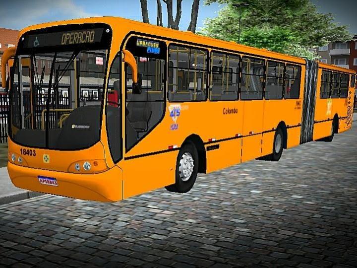 Lançamento Busscar Urbanuss Pluss Mercedes Benz O500MA