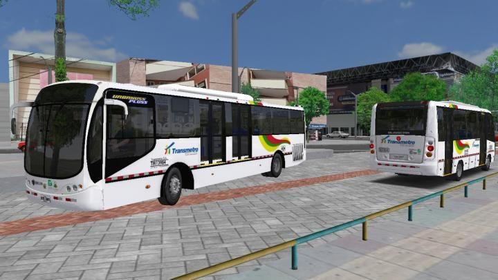 Lançamento: Pack Busscar Urbanuss Pluss Scania+ Busscar Masster – Padrão Barranquilla, Colombia.