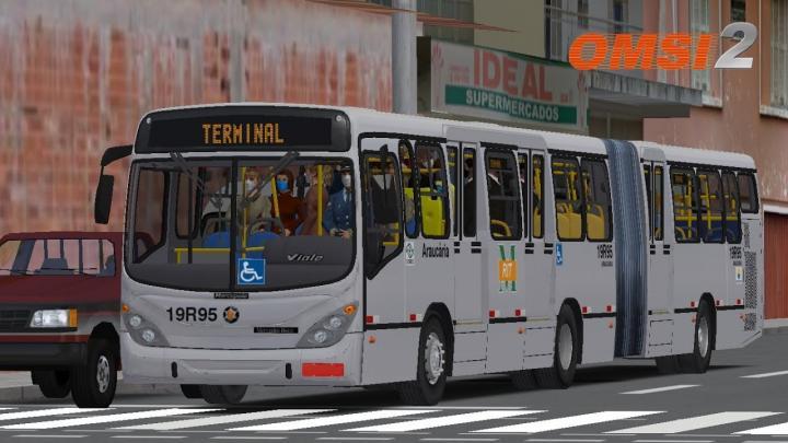 Marcopolo Gran Viale Articulado O500MA Ligeirinho I OMSI 2 #89