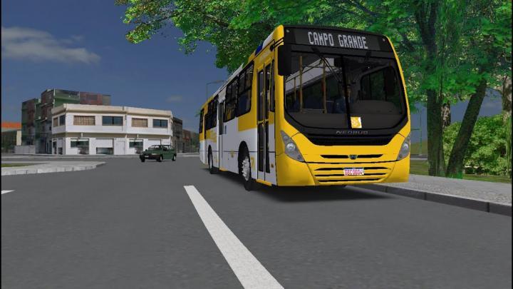 OMSI 2 – NOVA LINHA – Linha 0201 Ribeira/Bonfim x Campo Grande – Mapa Salvador Norte