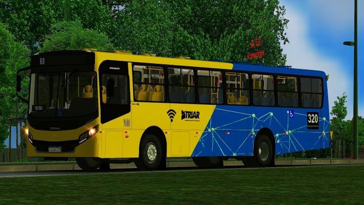 320 Imperial Locação e Transporte PRIMEIRO DIA DE OPERAÇAO Apache Vip IV MB OF-1721L BlueTec 5 OMSI