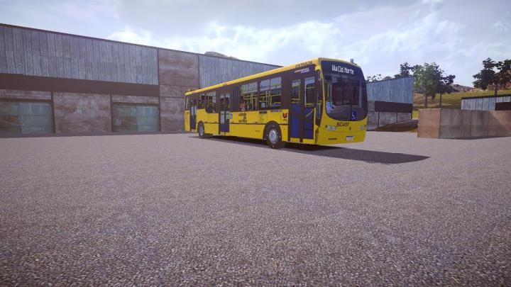 Busscar Urbanuss Pluss Volvo B7R Proton Bus Simulator