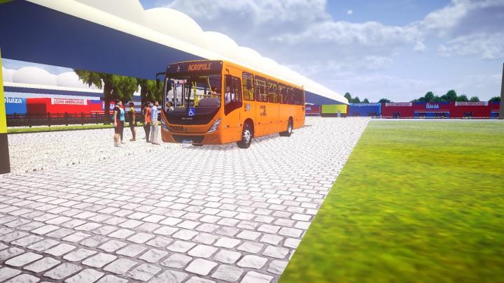 DI008 Empresa Cristo Rei Marcopolo Torino 2014 Volkswagen 17.260 OD Euro V Proton Bus Simulator