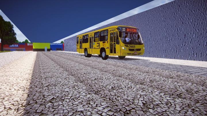 DN605 – Empresa Cristo Rei Neobus Spectrum Mercedes-Benz OF-1418 Proton Bus Simulator