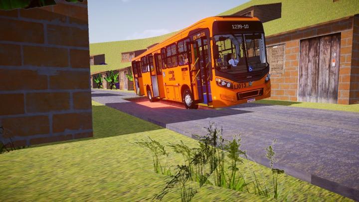 LI013 Araucária Transportes Coletivos Caio Millennium BRT Volvo B270F Euro V Proton Bus Simulator