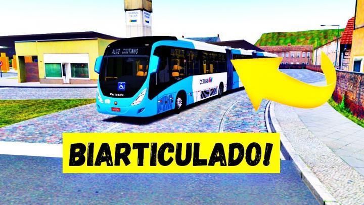 OMSI 2 – DESAFIO DO INSCRITO! – FIZ A LINHA 795 DE BIARTICULADO NO MAPA TRANSCOL (DEU RUIM?)