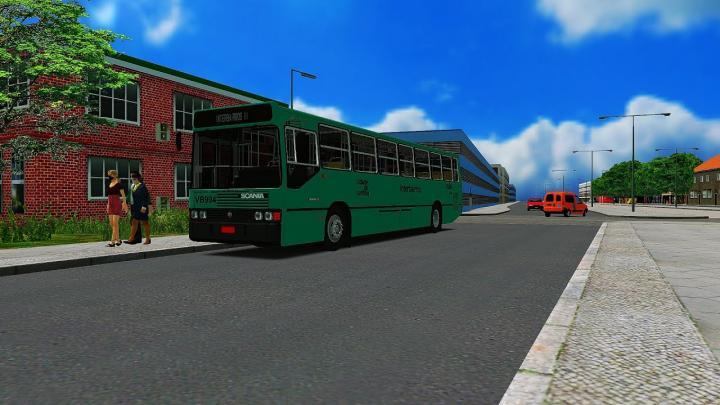 VB994 – Transporte Coletivo Glória Marcopolo Torino 1989 Scania K112 CL Ano/Mod: 1991/1991 OMSI 2