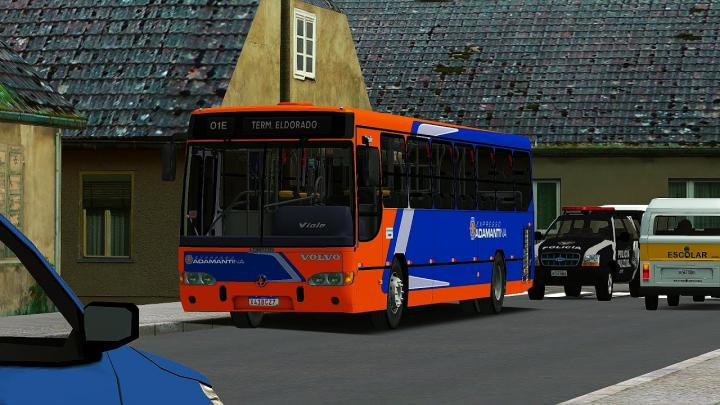 Expresso Adamantina|Marcopolo Viale Volvo B7R Euro II|OMSI 2