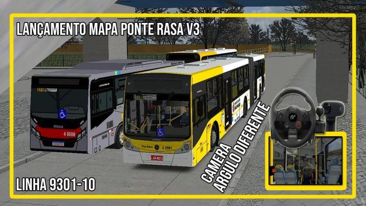 Lançamento MAPA PONTE RASA V3 – LINHA 9301-10